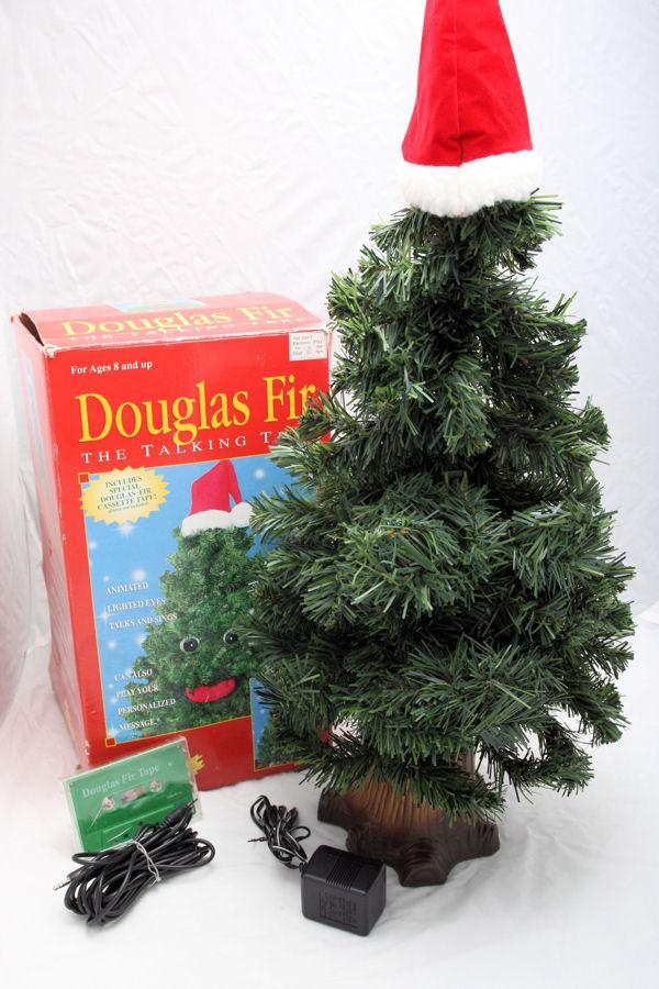 - Singing Douglas Fir (Halloween, Talking, Prop, Animated, Tree)